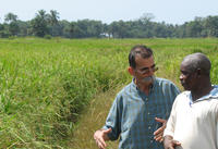 Scientific partnership in Guinea. Photo JL Pham ©IRD